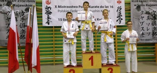 Mistrzostwa Polski Juniorów do lat 16.w Solcu Kujawskim 15.11.2014.