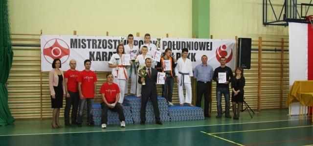 Otwarte Mistrzostwa Polski Południowej Full Contact Karate Mielec 13.12.2014r.