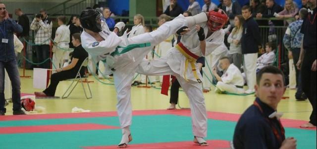 Otwarte Mistrzostwa Polski Południowej Full Contact Karate Mielec 10.12.2016 dwa II-gie, dwa III-cie i dwa IV-te miejsca dla Mi