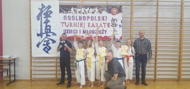 IV miejsca na podium dla zawodników Mieleckiego Klubu Karate Shinkyokushin SAIHA