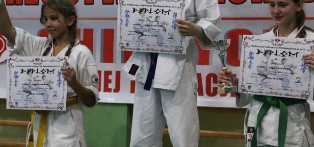 Mistrzostwo Polski Juniorów do lat 18 Shinkyokushin PFKK dla Natalii Paczyńskiej z Mieleckiego Klubu Karate Shinkyokushin SAIHA