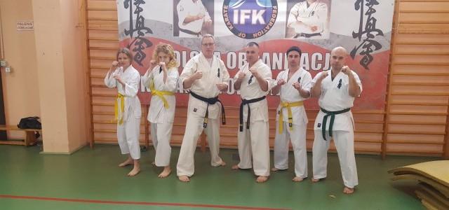 XVIII zimowe  seminarium szkoleniowe Polskiej Organizacji IFK Karate Kyokushinkai